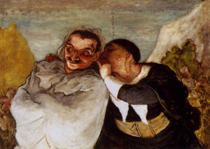 22. Daumier - Crispin and Scapin