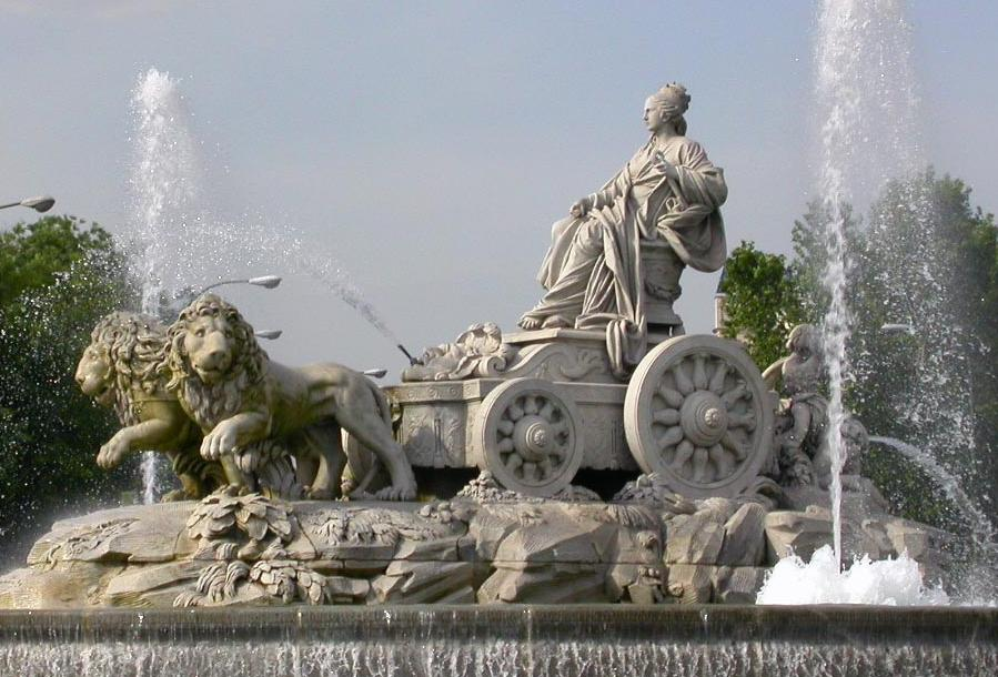 Estatua-Rea-plaza-Cibeles-Madrid