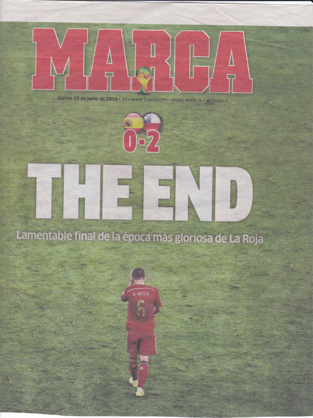 iniesta - the end